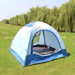 2-3 Person Outdoor Inflatable Camping Tent / backpacking air tent