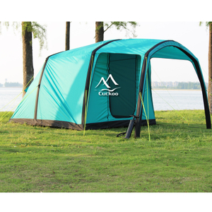 3-4 Person Outdoor Camping Family Inflatable Air Beam Tent