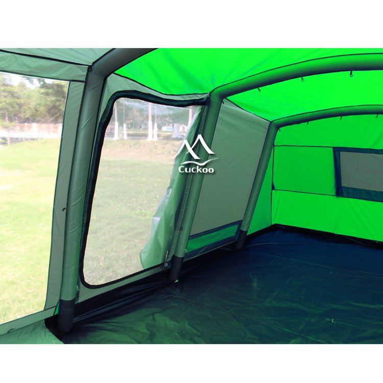 6 Man Inflatable Camping Tent for Family Use