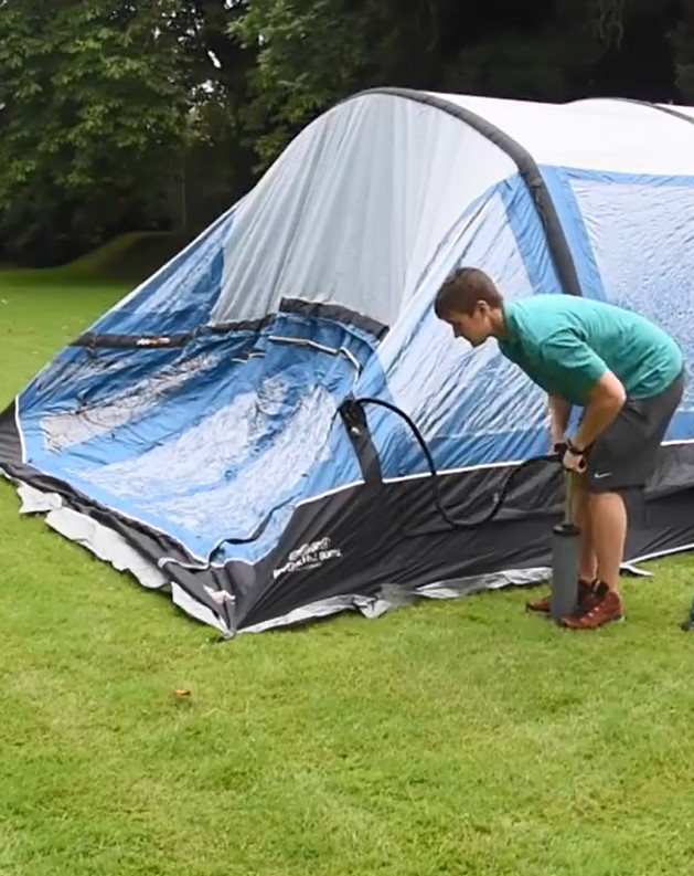 Advantage of inflatable tent